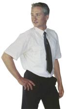 Kurzarm-Pilotenhemd bügelleicht