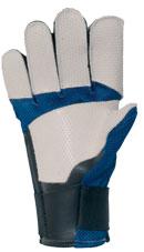 Gehmann-Leder-Schießhandschuh 5-Finger M