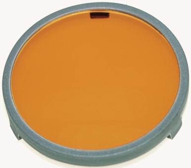 Vorhängefilter CR-39-orange
