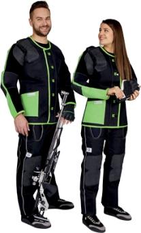 Gehmann Schießjacke APPLE-GREEN Damen rechts