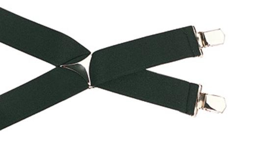 SAUER-Hosenträger mit Clips schwarz