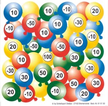 "Glücksscheibe ""Balloon"""