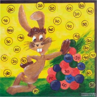 Oster-Glücksscheibe Eierberg