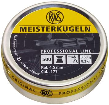 RWS-Meisterkugel LG  0,53 gr. 450