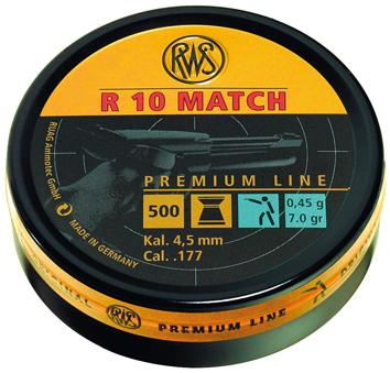 RWS R 10 Match 0,45gr.