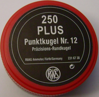 "RWS Rundkugel Nr. 12 ""Plus"""