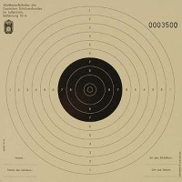 Luftpistolenscheibe DSB  10 m