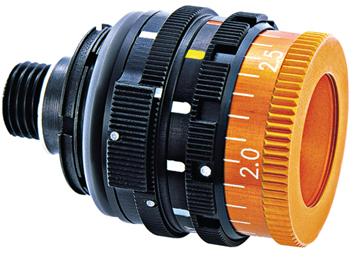 ahg-Irisblende mit 5 Farbfiltern und Vollpolarisation