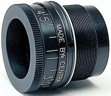 Centra Iris Glasringkorn M22  3,8 - 5,8 schwarz