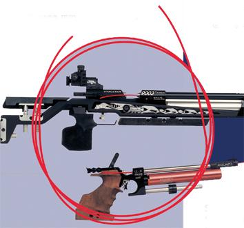 """Sicherheitsschnur """"Signal Line"""" für Gewehre"""