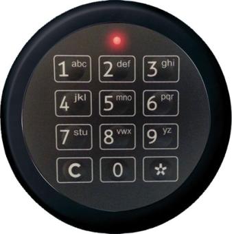 Elektronisches Zahlenschloß