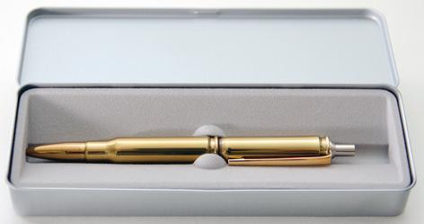 Patronen-Kugelschreiber cal. 7,62